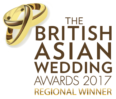 British Asian Wedding Award Winner